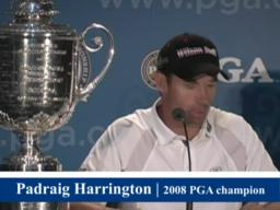 Harrington loves pressure of back nine at majors
