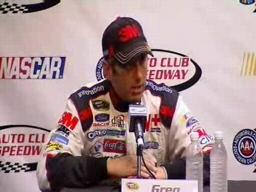 Biffle credits crew for runner-up finish at Fontana
