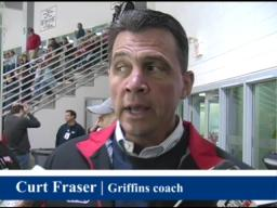 Griffins coach busy evalutating talent