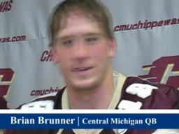 CMU's Brunner: Emtional final chapter against WMU