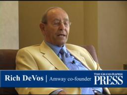 Rich DeVos on his opposition to gay marriage