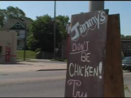 Odd Jobs: Young man dances as chicken restaurant mascot