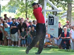 Tiger Woods wins Buick Open