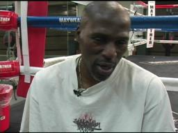 Roger Mayweather reacts to Juan Manuel Marquez drinking his own