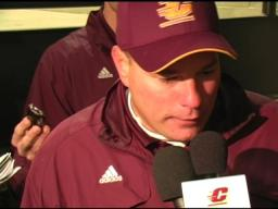 CMU's Jones: It wasn't easy to beat WMU