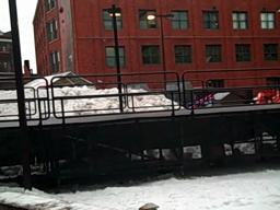 Downtown Rail Jam gets set up