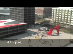 Timelapse of Google Fiber flash mob in Grand Rapids