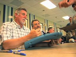 Fans enjoy opportunity to meet ex-Tigers pitcher Jack Morris