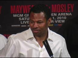 Shane Mosley: I couldn't make the adjustments against Floyd Mayweather