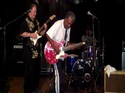 Donald Kinsey Band performs Fire Down Below