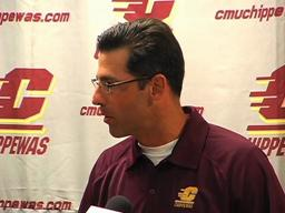 Dan Enos prepares for first season as Central Michigan's football coach