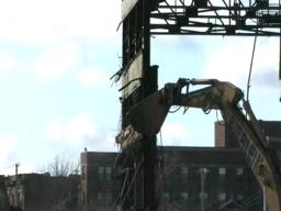 Industrial Brownhoist Demolition