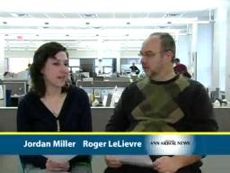 Ann Arbor News weekend webcast for March 7, 2008