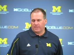 Video: 'The sky is not falling,' says Rich Rodriguez