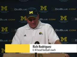 09-06-08: U-M vs. Miami of Ohio postgame press conference