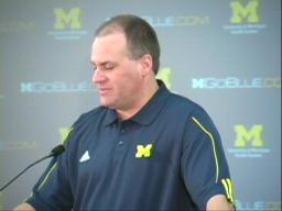 Rich Rodriguez press conference