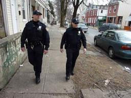 Harrisburg police foot patrols