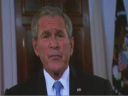 "Bush: McCain ""ready to lead"""