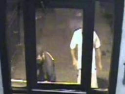 2  men wanted in a beating with a baseball bat.