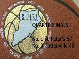 SIHSL Quarterfinals: No. 1 St. Peter's vs. No. 9 Tottenville