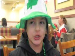 Stolen Hat at St. Patrick's Parade