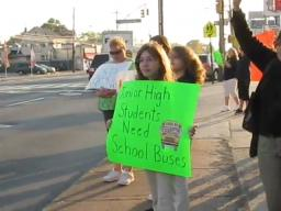 Staten Island parents protest school bus transportation