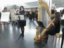 Ensemble performs concert for commuters at St. George Ferry Terminal