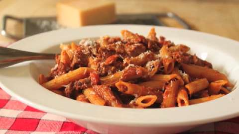 Tomato- Beef Pasta Recipes — Dishmaps