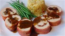 Prosciutto-Wrapped Stuffed Chicken Breasts