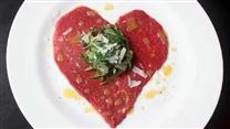 Heart-Shaped Carpaccio
