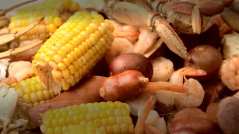 Authentic Low-Country Crab Boil