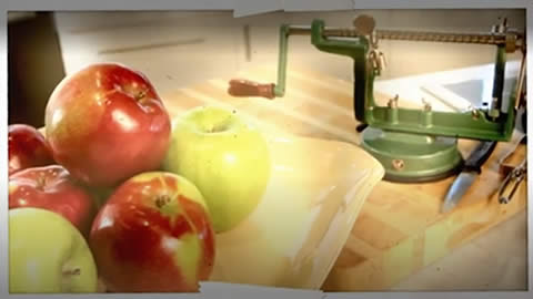 Apple Corer and Peeler