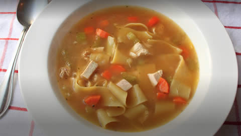 Easy recipe for homemade chicken soup