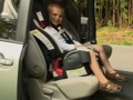 Installing toddler booster car seats