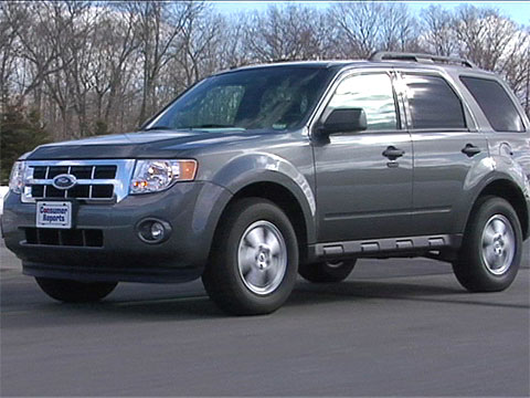 ford escape 2009 2012 road test consumer reports video hub. Black Bedroom Furniture Sets. Home Design Ideas