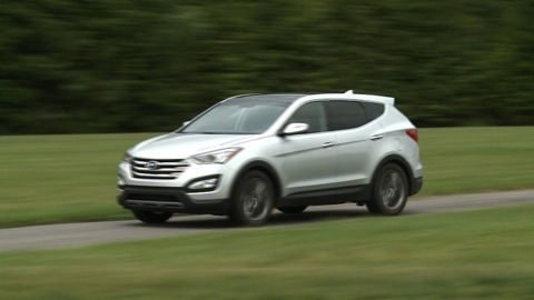2013 hyundai santa fe sport first drive consumer reports video hub. Black Bedroom Furniture Sets. Home Design Ideas