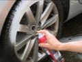 Wheel cleaner sprays