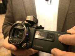 CES 2013: Sony camcorders