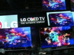 CES 2013: LG OLED televisions