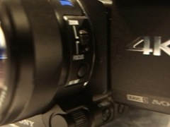 Sony 4K video camera at CES 2014
