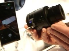 Sony cameras at CES 2014