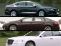 Top choices in large sedans