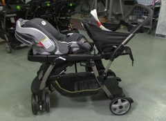 Graco Double Stroller Poses Safety Risk