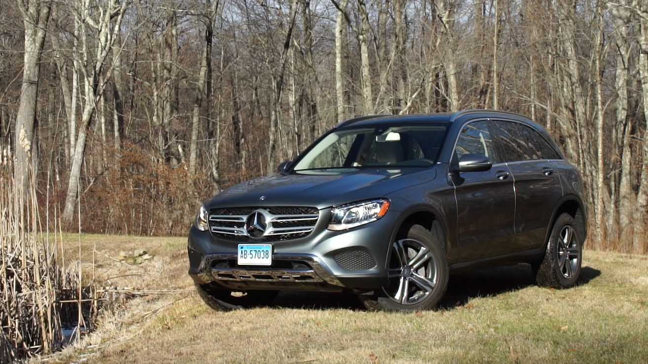 polished mercedes benz glc suv  strong impression consumer reports