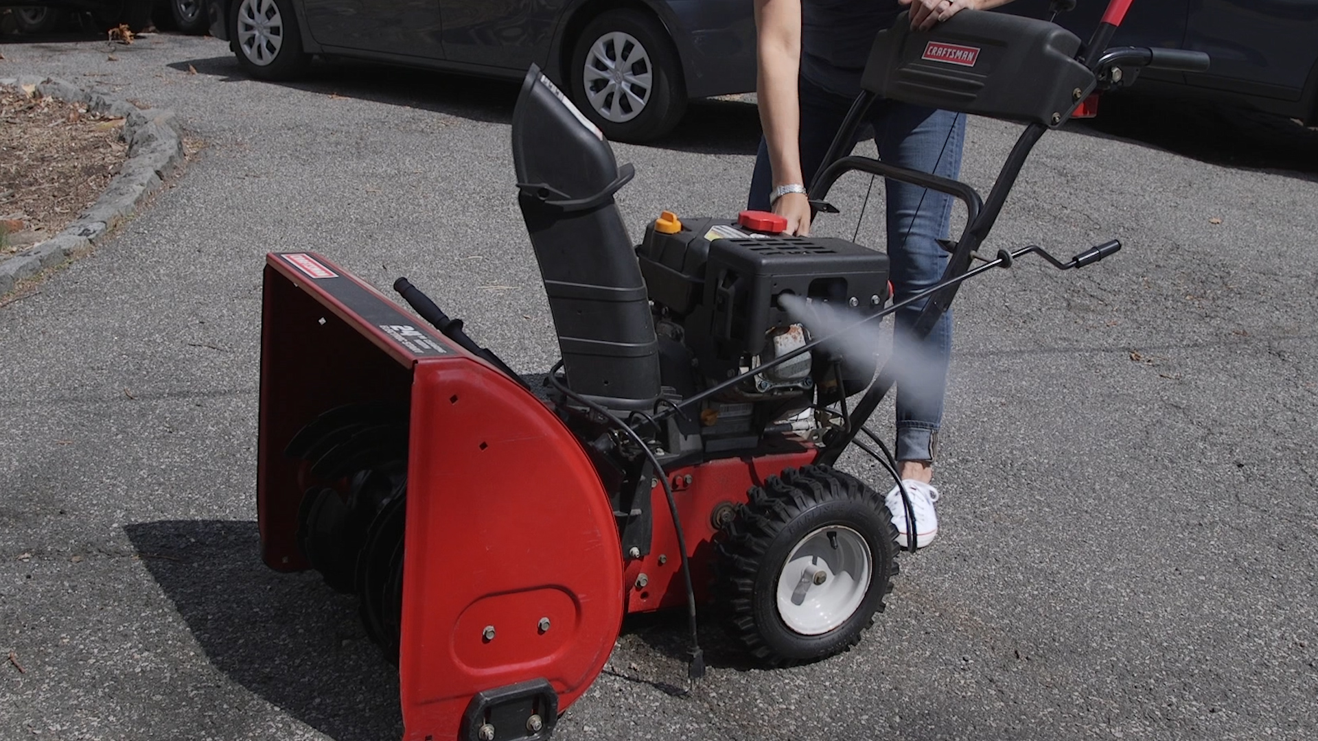smart cleaning tip 7 stow your snow blower