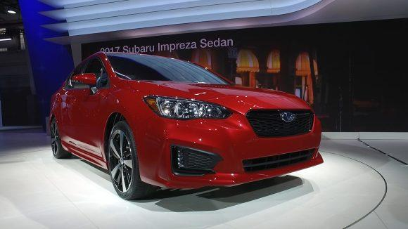 Redesigned Subaru Impreza Aims for Refinement