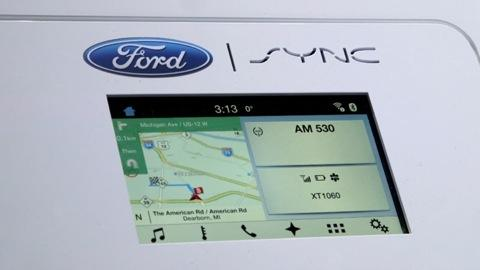 CES 2015: Ford Unveils Faster, Simpler Touchscreen
