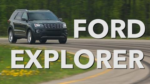 2016 Ford Explorer Quick Drive