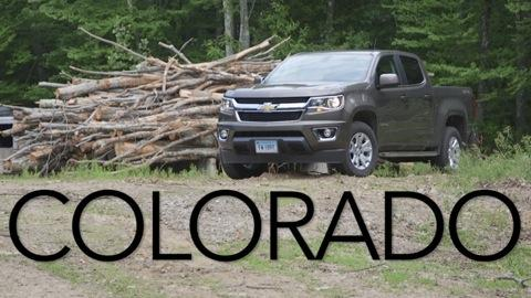 Chevrolet Colorado 2015-2016 Road Test