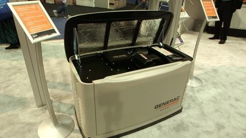 Generac's quieter, fuel-saving generator